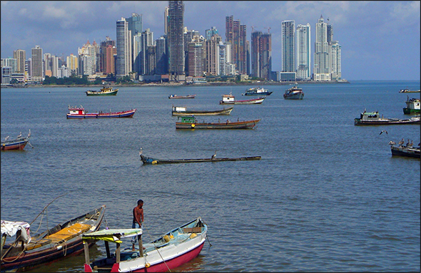 Panama is one of the fastest-growing economies in the Western Hemisphere, largely thanks to a new free-trade agreement with the U.S. and an ongoing $US 5.25 billion expansion of the Panama Canal. Slated for completion in 2014, the expansion will double the canal's capacity, which will reduce emissions, and the new system will recycle 60 percent of the water in each transit, along with an overall decrease of 7 percent less water than is used by the existing locks.