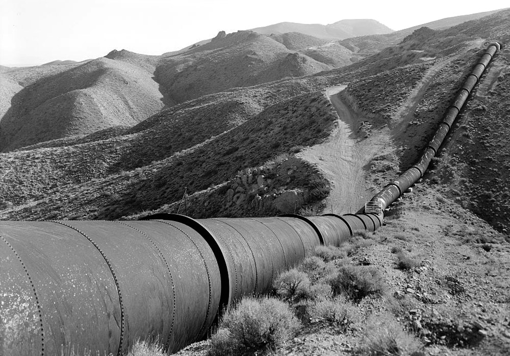 Los Angeles Aqueduct L.A. Jawbone Canyon Historic American Engineering Record project