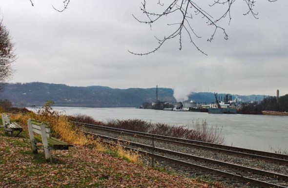 Wellsville and Ohio River