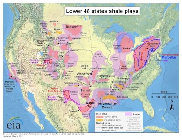 U.S. Shale Plays
