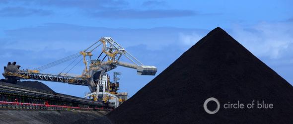 Australia coal export port of newcastle new south wales natural gas coal seam gas LNG
