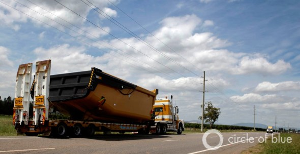 Hunter valley australia coal mine mining mineral rights lease excavating equipment road infrastructure