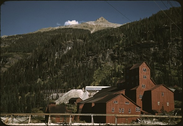Camp Bird Mine Ouray County, Colorado gold mine mining title=