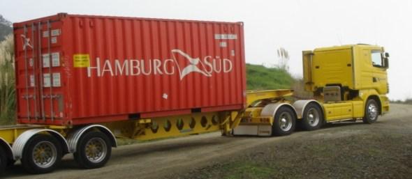 bulk water shipment aqua naida flexitank mineral water bladder new zealand