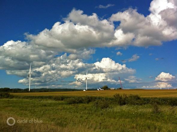 great lakes wind energy park ludington michigan renewable alternative consumer energy