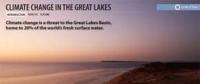great lakes interactive infographic map lake levels drought shipping tourism industry