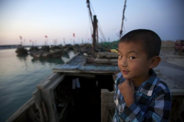 china aquaculture shandong fishing aoshawei bay scallops clams oysters mussels fisherman