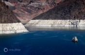 Lake Mead's bathtub ring Colorado River Hoover Dam drought