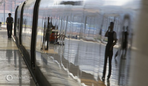 high speed rail train beijing qingdao china