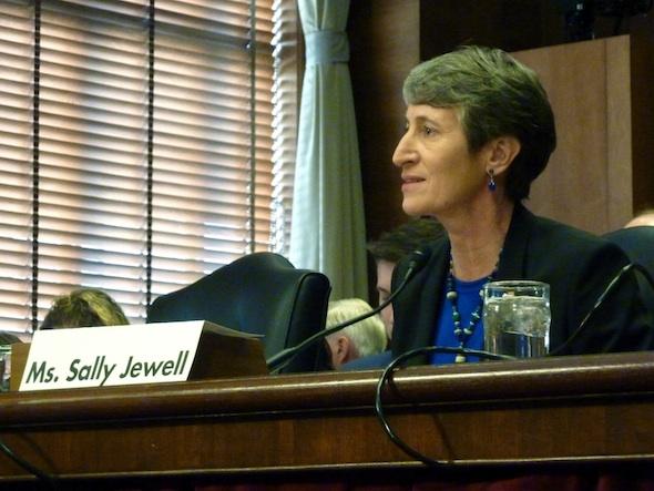 Sally Jewell Interior Department Washington Water Main Obama nominees Ron Wyden Lisa Murkowski
