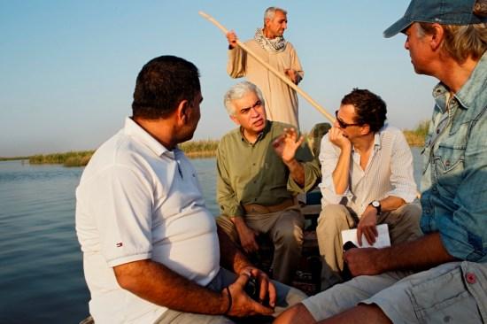 Iraq marsh wetland restoration Goldman Prize