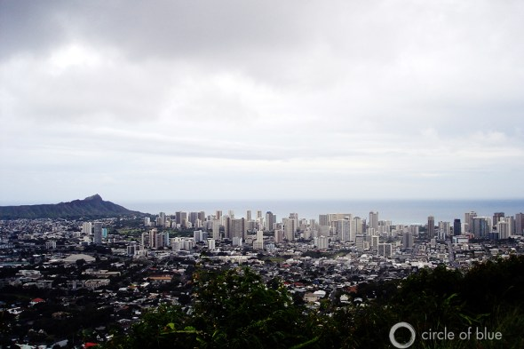 Honolulu Hawaii Oahu Diamond Head