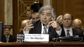 Department of Energy DOE Nominee Ernest Moniz Barack Obama Washington Water Main
