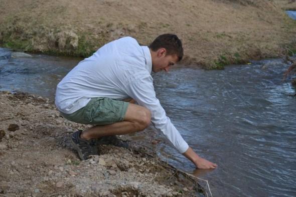 transpiration water cycle isotopes climate change university of new mexico scott jasechko santa fe river la bajada