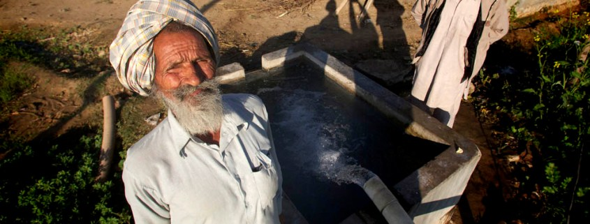 Punjab irrigation water well electric pump farm farming wheat crop rice paddy water table aquifer electricity generation Choke Point India water food energy nexus Circle of Blue Wilson Center Punjab Title: Irrigation well in Punjab, India