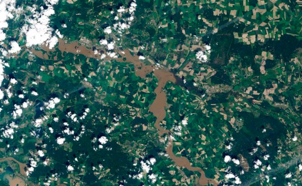 Elbe River floods 2013 Central Europe Germany