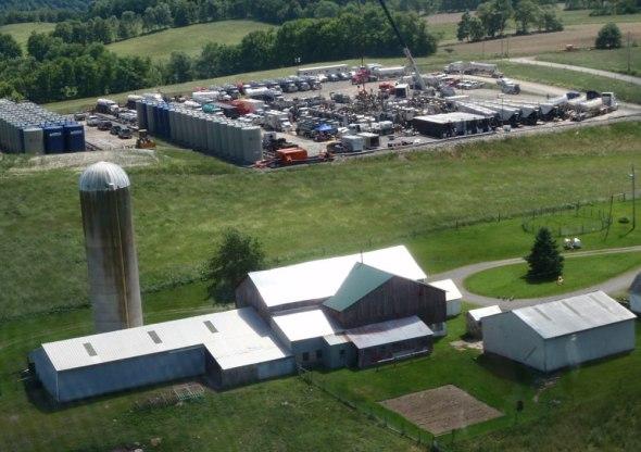 groundwater contamination fracking Pennsylvania Marcellus Shale methane Duke University