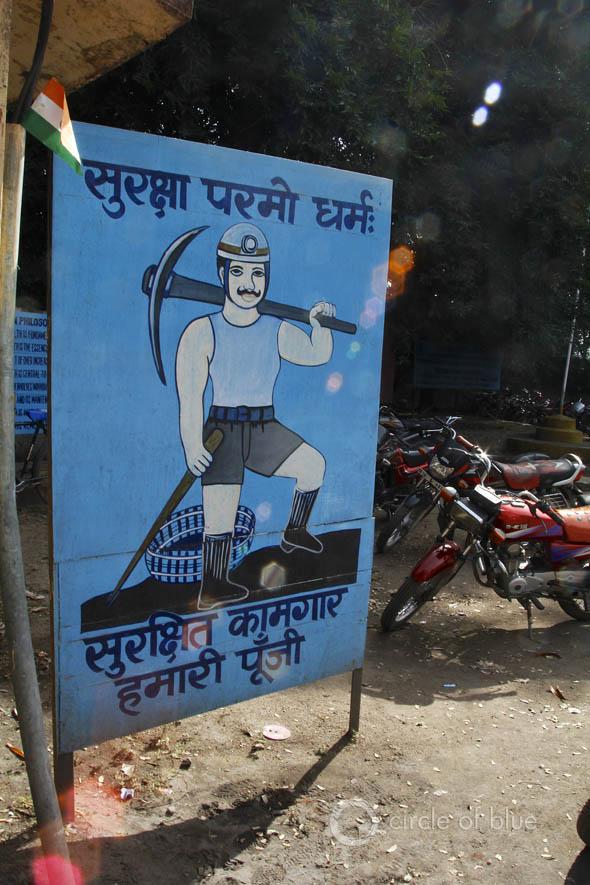 Korba mine Coal India Southeastern Coalfields Ltd. headquarters Chhattisgarh Bilaspur coalbelt open-pit mining industry water food energy choke point circle of blue wilson center aubrey ann parker