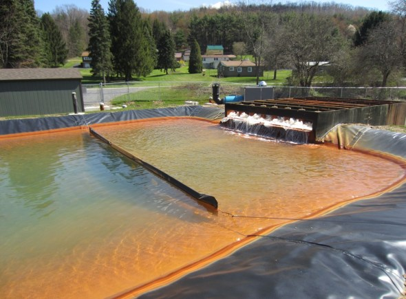 AMD acid mine drainage Pennsylvania Marcellus Shale fracking natural gas