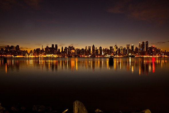 New York City skyline Hudson River Megacities Megacity metropolitan area populations greater than 10 million