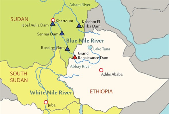 Infographic: Wealth of the Nile — Basin's Countries, Dams, and GDP