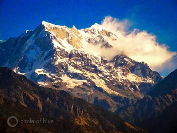 Rampur India Mandakini River Himalaya mountain summit Circle of Blue Choke Point Keith Schneider