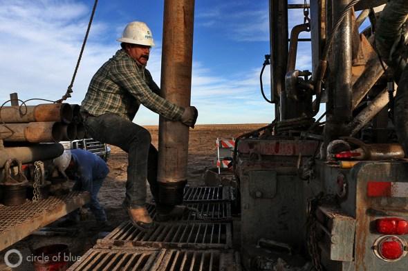 Ogallala Aquifer Sublette Kansas groundwater age well drilling Great Plains tritium