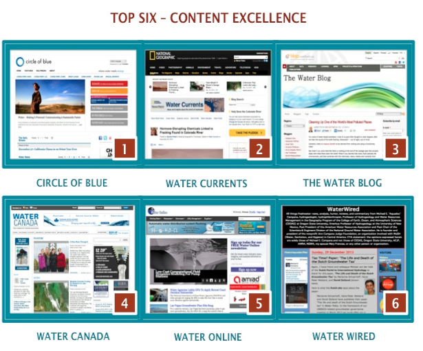 Top 50 Water Blogs 2013 Circle of Blue