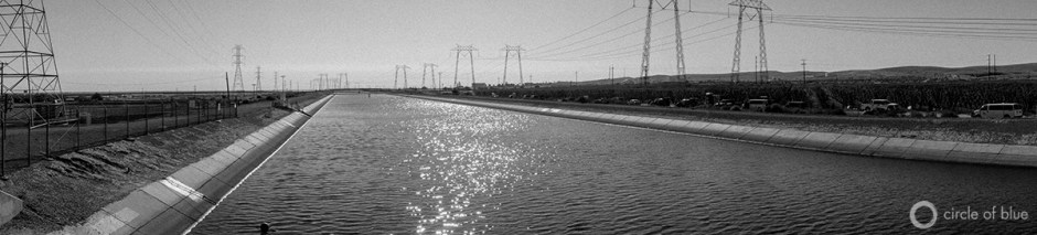 The California Aqueduct flows south through the town of Kettleman City. The concrete river supplies water to farms, industry, and tens of millions of residents in the Los Angeles Basin. Kettleman City's residents, however, rely on contaminated groundwater wells in town for drinking and bathing.