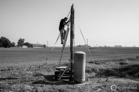 California drought groundwater legislation water supply dry well