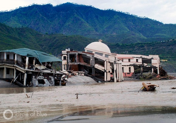 More than 5,000 buildings were seriously damaged or destroyed by the Uttarakhand flood on June 16 and 17, 2014. Photo: Dhruv Malhotra