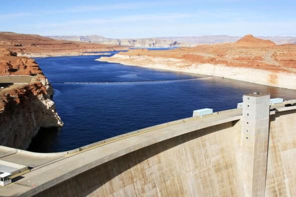Colorado River Basin drought Lake Powell hydropower Utah Arizona water supply