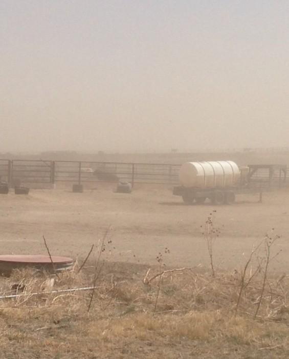 Kansas drought dust storm Wichita County Great Plains agriculture