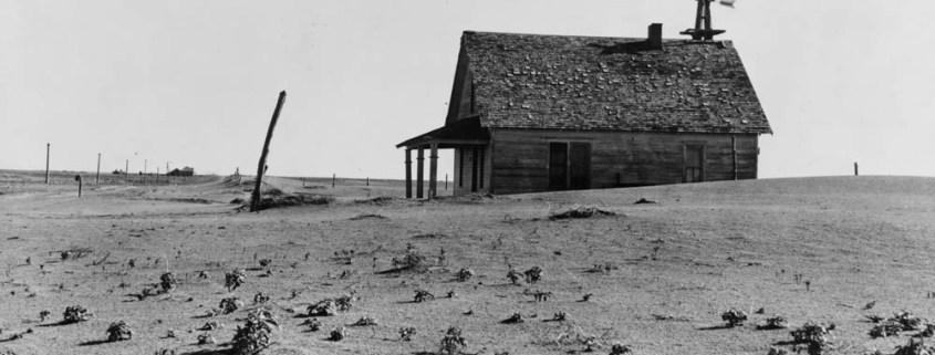 Texas drought Dust Bowl agriculture Great Plains