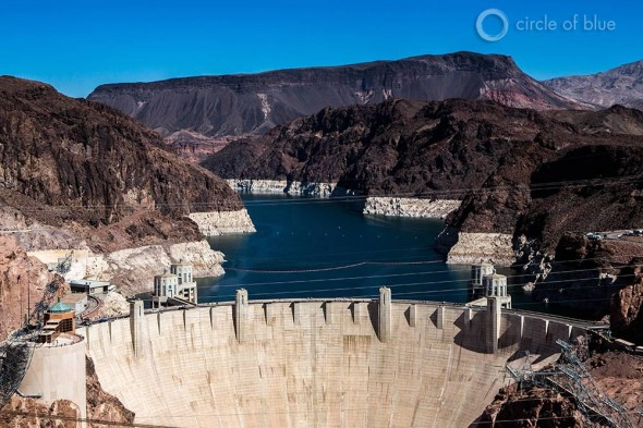 Colorado River Lake Mead water infrastructure pumping station drought American Southwest Nevada Las Vegas