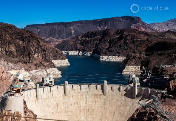 Lake Mead Colorado River Hoover Dam Southwest water supply climate change Bureau of Reclamation