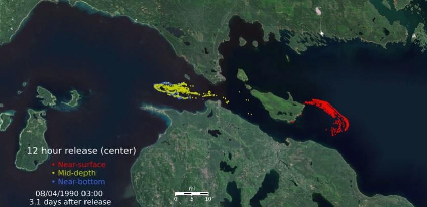 Great Lakes oil spill Mackinac Straits Enbridge line 5 water pollution
