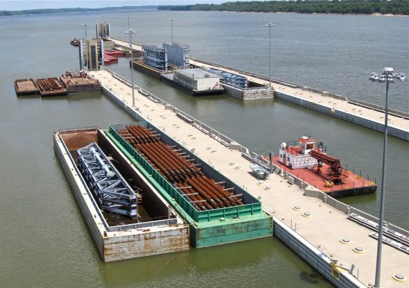 Olmsted Project Ohio River dam lock water infrastructure United States