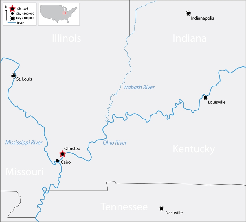 Despite Delays And Billions In Overruns Olmsted Locks And Dam - Ohio river on us map