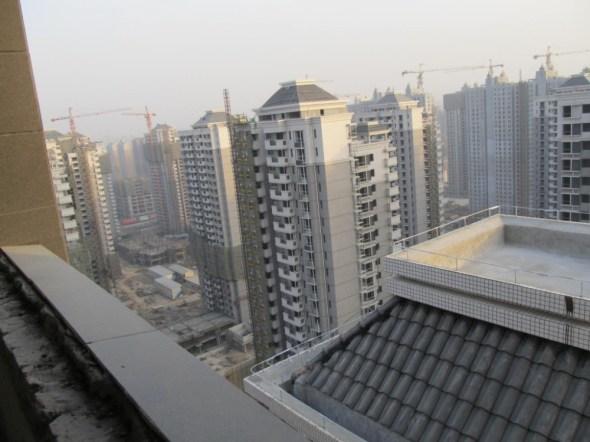 China Xian urban development water scarcity