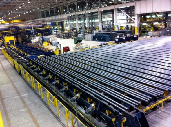 Cleveland Ohio steel plant economic growth