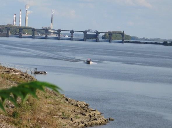 Evansville Indiana locks Ohio River river transportation