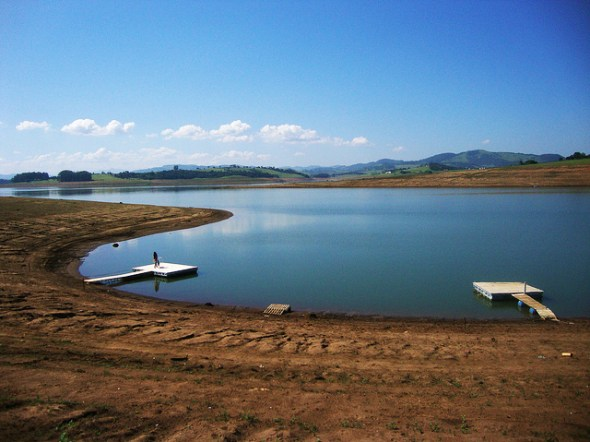 Sao Paulo Cantareira reservoir water shortage drought Brazil