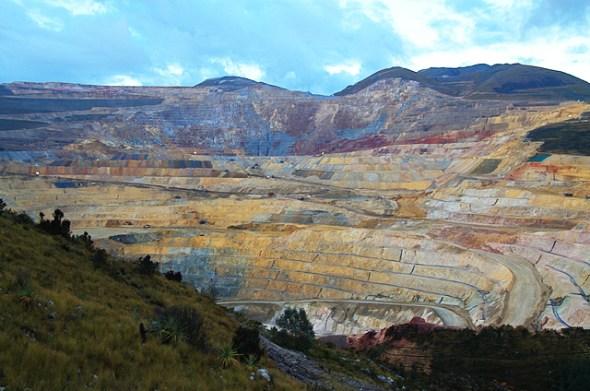 Yanacocha gold mine Peru Cajamarca