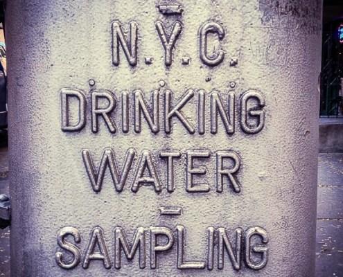 New York City Tap Water J. Carl Ganter Circle of Blue