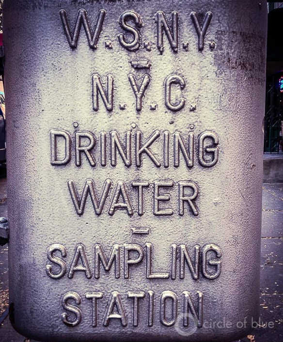 New York City Tap Water Sampling Station J. Carl Ganter Circle of Blue
