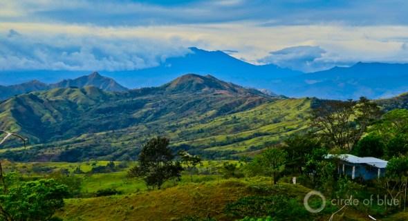 Cordillera de Talamanca Panama Bocas del Toro mountain range rain forest hydropower