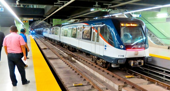 Panama City downtown subway economy development