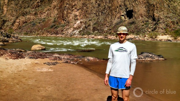 Colorado River Grand Canyon Pipe Creek beach Brett Walton American Southwest Arizona