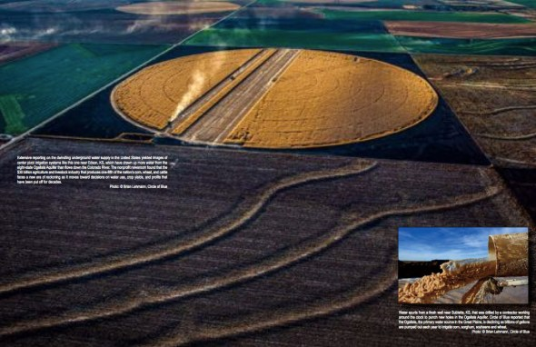 Brian Lehmann Ogallala Farming Agriculture SEJ SEJournal Winter 2015 Circle of Blue J. Carl Ganter March 2015 Society of Environmental Journalists